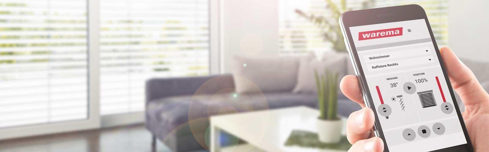 WAREMA Smart Home System (WMS) Handysteuerung Titelbild